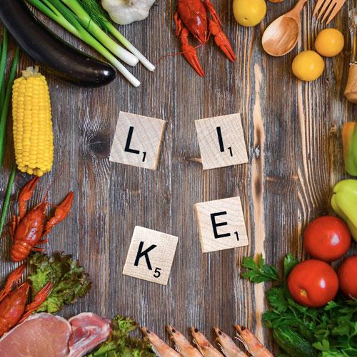 Content management - community manager vendeur de légumes
