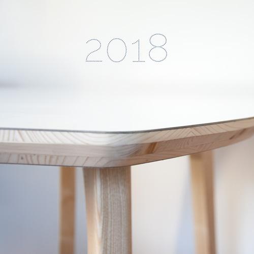 Voeux 2018 – Atelier Etienne bois