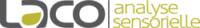 Logo du laboratoire d'analyses sensorielles LACO référence client de l'Agence Iltze, communication et community management
