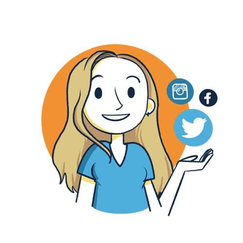Avatar d'Aurélie Garbay-Douziech, community manager et spécialiste en communication sur les réseaux sociaux