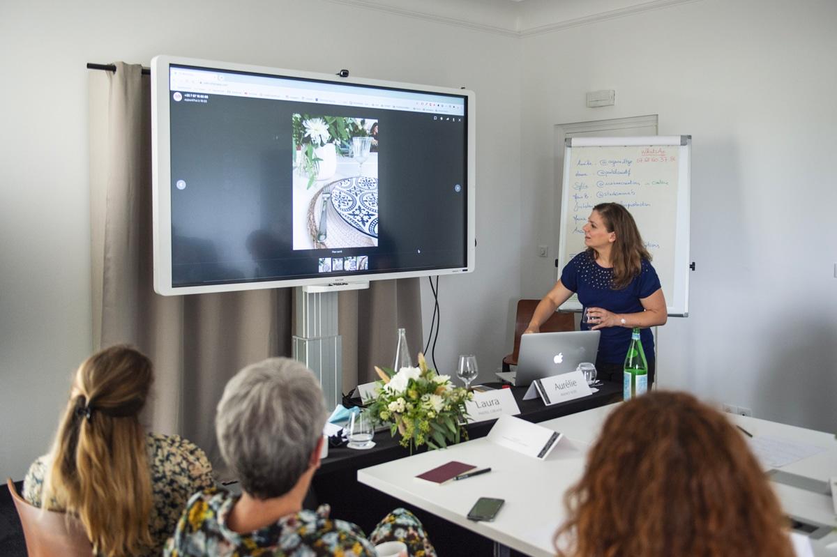Correction d'un exercice pratique en Community Management - Agence Iltze / Pastel Créatif, Le Régina, Biarritz
