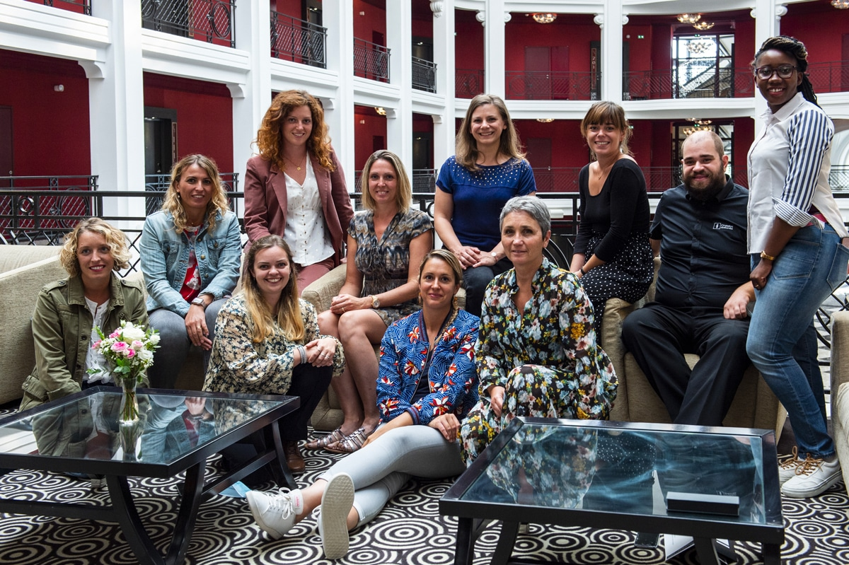 Photo de fin de Masterclass en Community Management - Agence Iltze / Pastel Créatif, Le Régina, Biarritz