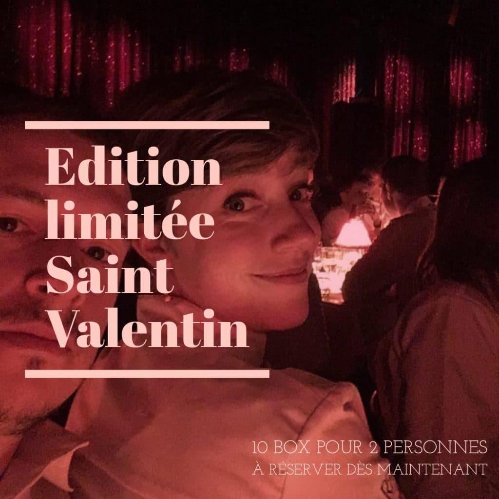 Visuel créé pour le restaurant étoilé Choko Ona à l'occasion de la Saint Valentin en période de COVID 2021