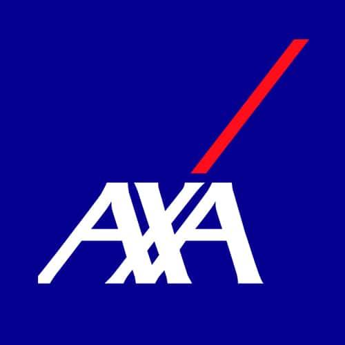 Logo de AXA, assureur à Biarritz et Bidart, client de l'Agence Iltze community manager au Pays basque